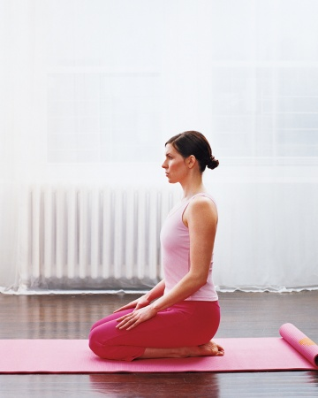 Pose for the week  Thunderbolt VajrasanaVajrasana